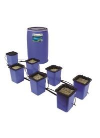 Flo-n-Gro Drip-n-Gro Dual Top Feed Drip System w/ Reservoir - 6 Site