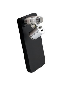 Grower's Edge iPhone 5 Case w/ LED Pocket Microscope 60x