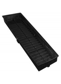 Botanicare LT Black 1 ft x 4 ft Tray