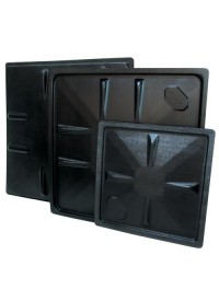 ABS Black Plastic  70 Gallon Reservoir Lid