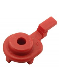 JAIN Irrigation Octa-Bubbler 10 GPH Flow Control Device - Red