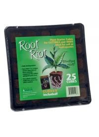 Root Riot 25 Cube Tray w/ Clonex Gel