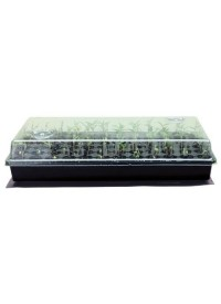 Super Sprouter Heated Germination Kit w/ 2 in Ultra Clear Dome
