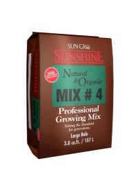 Sunshine # 4 Natural & Organic 3.8 cu ft Compressed Bale