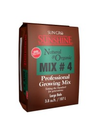 Sunshine Mix # 4 Natural & Organic w/ Mycorrhizae 3.8 cu ft