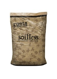 Roots Soilless Coco Media 1.5 Cu Ft