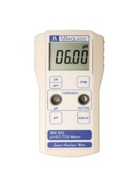 Milwaukee MW802 Smart pH/EC/TDS/ Combination Meter