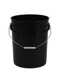 Gro Pro Black Plastic Bucket 5 Gallon