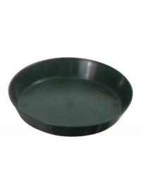 Green Premium Plastic Saucer  6 in