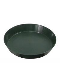 Green Premium Plastic Saucer  8 in