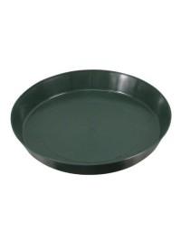 Green Premium Plastic Saucer 10 in