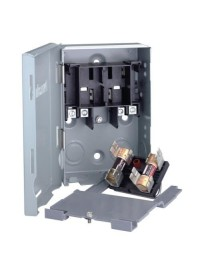 Electrical Disconnect Box 30 Amp Fuseable