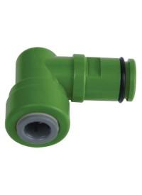Hydro-logic Green Drain Elbow 3/8 in for Merlin GP