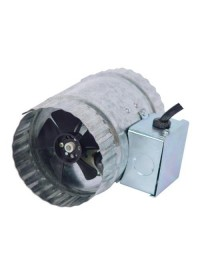 Hurricane Inline Duct Booster 4 in 70 CFM