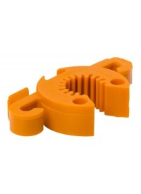 Grower's Edge C-Bite Stake Coupler & Tie-Anchor #10 (12/Bag)