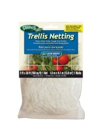 Gardeneer Trellis Netting 5 ft x 30 ft w/ 7 in Holes