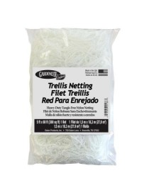 Gardeneer Trellis Netting 5 ft x 60 ft w/ 7 in Holes