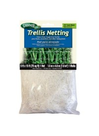 Gardeneer Trellis Netting 5 ft x 15 ft w/ 3.5 in Holes