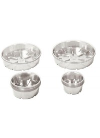 Bond Clear Plastic Saucer  8 in
