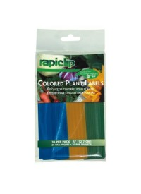 Luster Leaf Colored Plant Labels 5 in