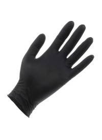 Black Lightning Powder Free Nitrile Gloves Medium
