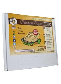 True Liberty Chicken Bags 12 in x 20 in (100/Pack)