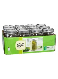 Ball Jars Wide Mouth  Quart