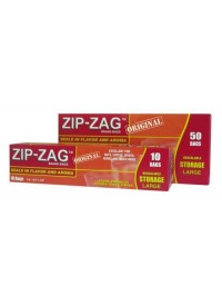Zip-Zag Bags 10.75 in x 11 in 50/Box